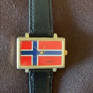 Norwegian flag 🇳🇴 watch